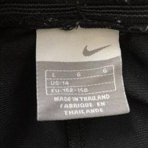 Nike Shorts - Nike Drawstring Shorts Black Size Youth Large